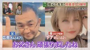 村重杏奈の母と父