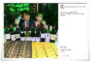 浜崎あゆみと勝浦勝人