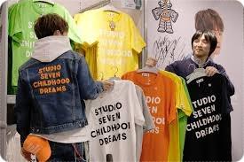GU×STUDIO SEVENのTシャツ