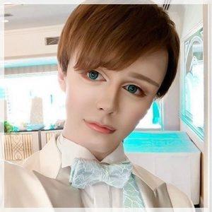 小松美羽のマット風メイク