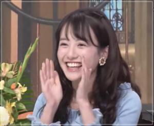 中川梨花(慶應)の歯はホワイトニング