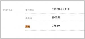 磯村勇斗の身長176cmのサバ読み説