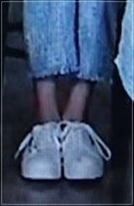 ミイヒの足は細い