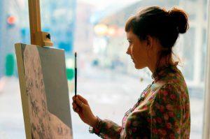 画像|松下洸平の母親は画家&元ボディビルダー!絵の作品や母子家庭の噂