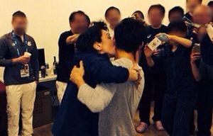 【炎上】橋本聖子の高橋大輔へのキス強要写真