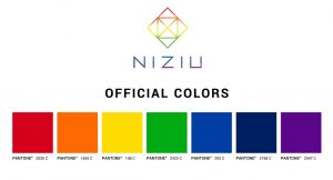 NiziUメンバーカラーの色の意味や評判