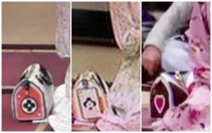 溜席の妖精のバッグのブランドはヴィトン