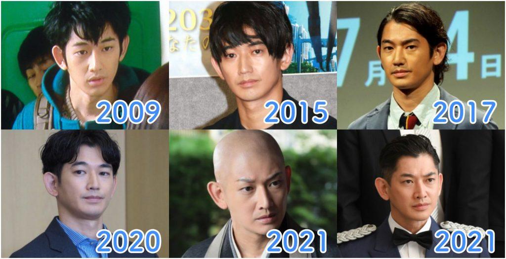 【2021最新】瑛太の顔が変わったのは整形?過去と現在比較で別人と話題に!