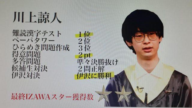 川上諒人は宇都宮高校出身!高校生クイズの実績や地学オリンピック銀賞の経歴も!