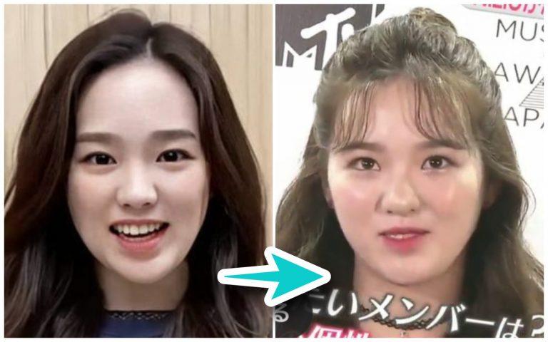 【画像】NiziUリオが太った?二重顎で顔でかい?過去と体型比較してみた
