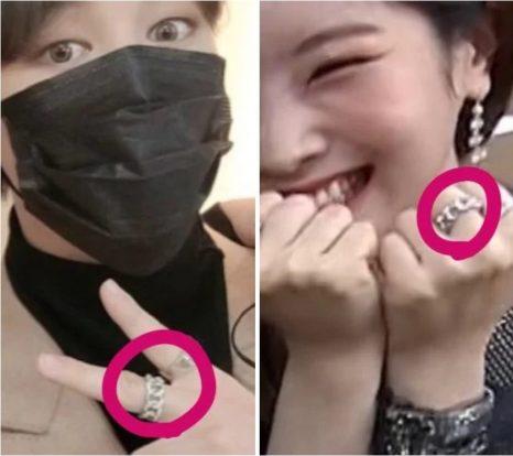【2021現在】ジミンの最新彼女はダヒョン?お揃い指輪匂わせの真相は?
